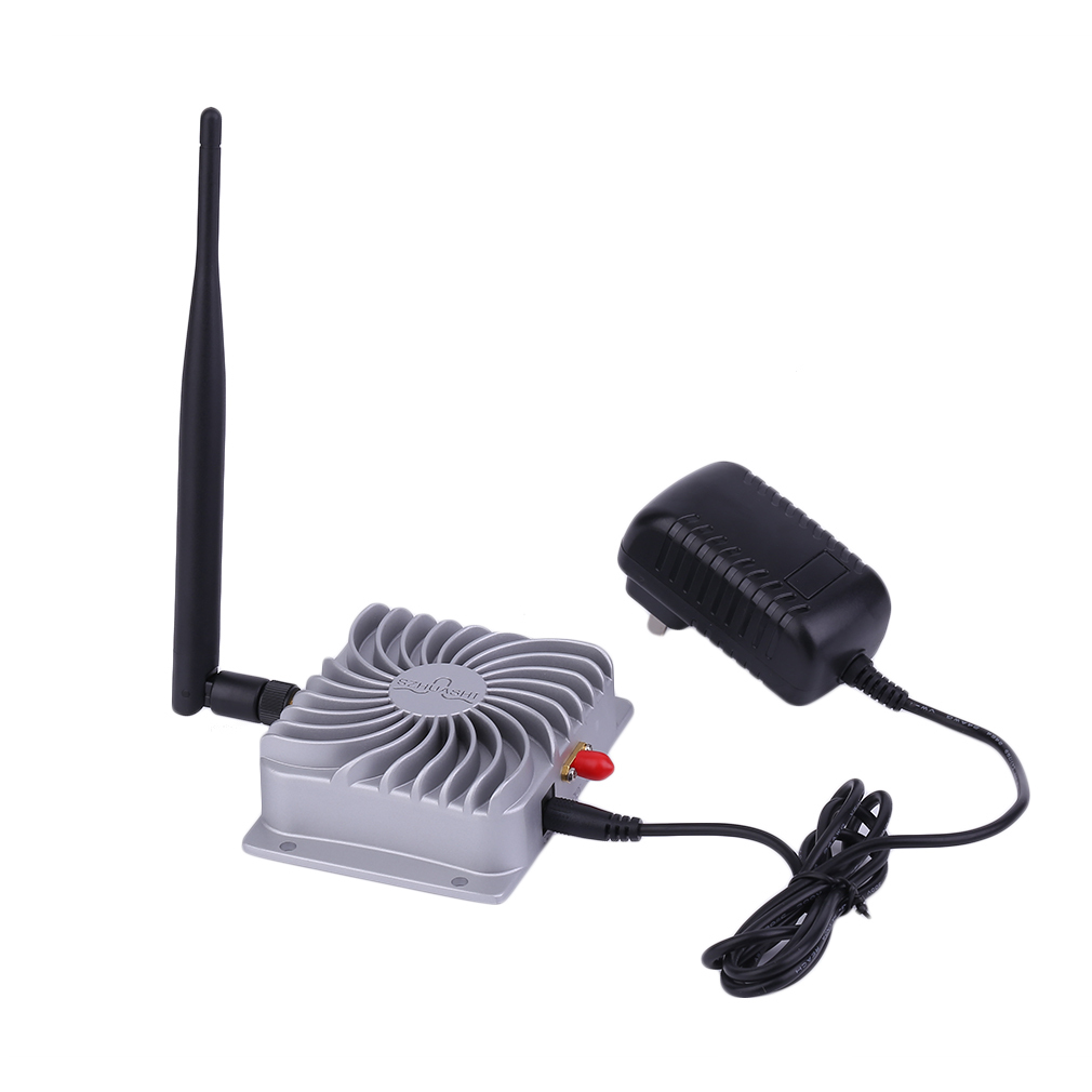 2.4 GHZ Super longue portée haute vitesse IEEE802.11b/g/n WiFi amplificateur de Signal WLAN 5 W Wifi amplificateur à large bande sans fil en gros