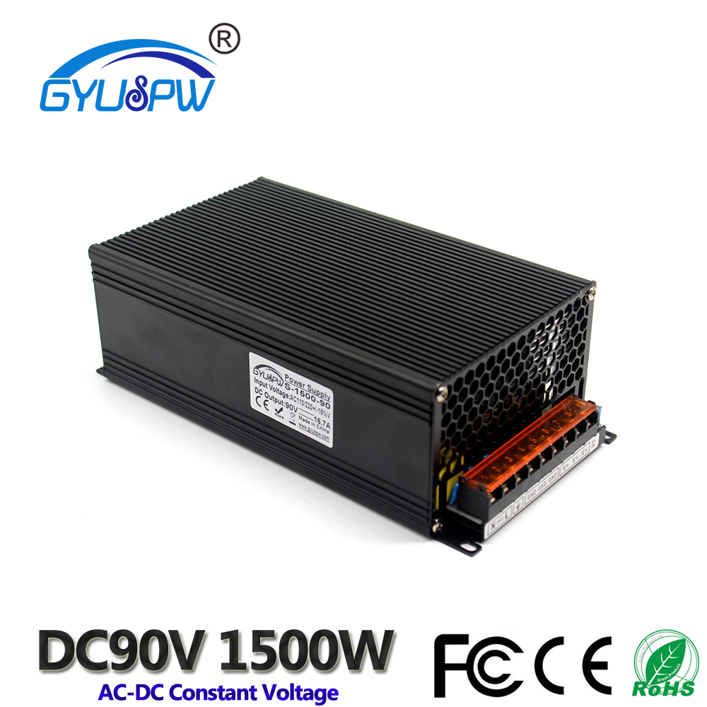 Switching power supply 1500W DC90V 16 7A Single Output smps Transformer 110V 220V AC to DC