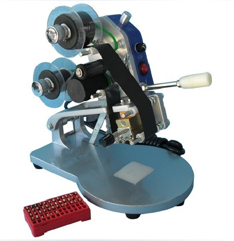 ФОТО Manual Number Words Date Printing Machine for Bag & Paper & Film