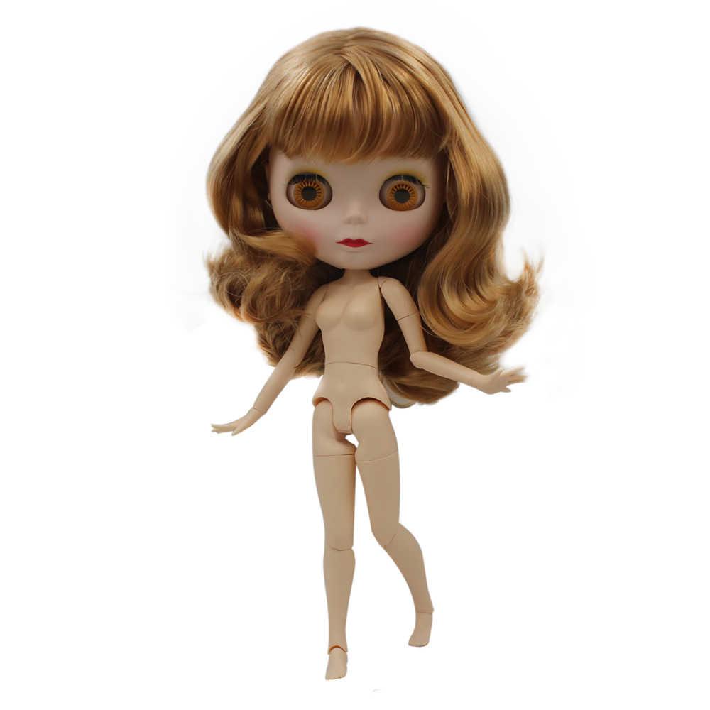 Blyth boneca bjd, neo blyth boneca nude personalizado fosco rosto bonecas pode mudado maquiagem e vestido diy, 1/6 bola articulada bonecas sno9