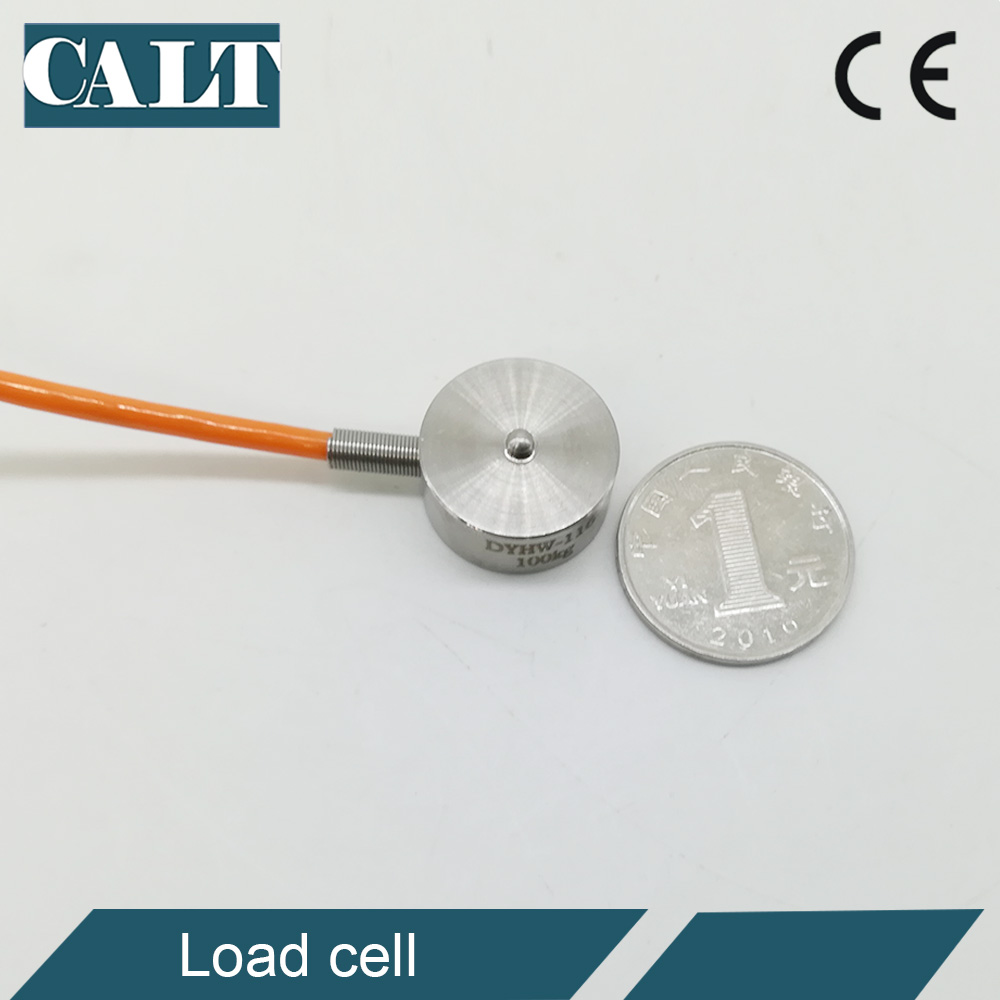 5 10 20 <font><b>30</b></font> <font><b>50</b></font> 100 200 300 500 1000 2000 3000 Kg 1 2 3 Ton Micro load cell Button small compression weight sensor image