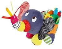 Work Hard Doll Plush Soft Stuffed Animal Elephant Pillow Doll With BB Sound For Baby Kids
