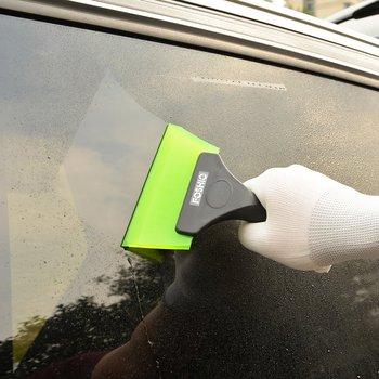 FOSHIO Auto Magic Handle Car Ice Scraper Snow Shovel Window Kitchen Bathroom Water Wiper Cleaning Tool Vinyl Wrap Tint Squeegee