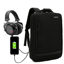 Antitheft Laptop Rugzak met USB Lading Universele 15.0 inch Nylon Mochila Notebook Tas voor Xiaomi Mipad 13 Bag Pack
