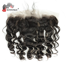 Sunnymay Ear to Ear Lace Frontal Closure With Baby Hair New Body Wave Pre Plucked Brazilian Virgin Hair In Stock стоимость
