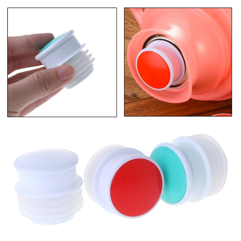 Food Grade Silicone Thermos Plug Cap Stopper Bottle Lid