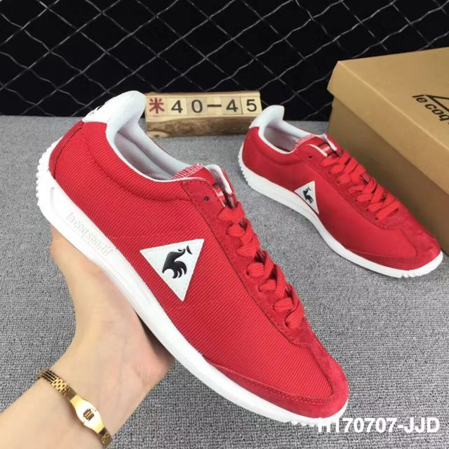 b0d54f9b509b 2018 Latest Version Le Coq Sportif Men s Running Shoes Sneakers High  Quality Men s Sports Shoes Ren White Blue Black Color 4