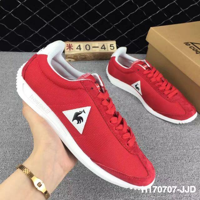 e81ec4b86a 2018 Latest Version Le Coq Sportif Men's Running Shoes Sneakers High  Quality Men's Sports Shoes Ren/White/Blue/Black Color 4