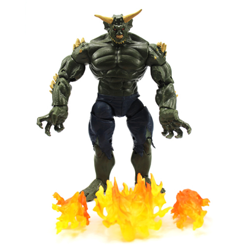 Marvel The Amazing <font><b>Spider-Man</b></font> <font><b>Green</b></font> <font><b>Goblin</b></font> Super Hero Ultimate Action Figure Toys PVC Model Collectible Christmas Toy Gift 21CM