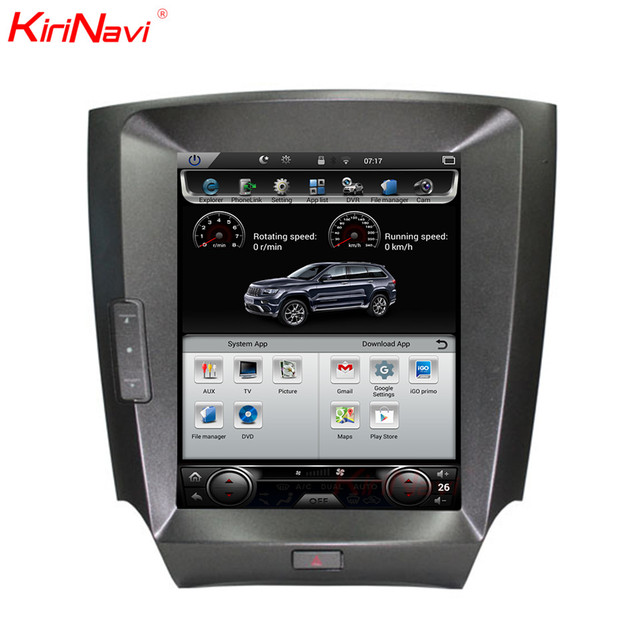 kirinavi vertical screen tesla style 10 4 inch android 6 0 car gps radio for lexus is200 is250. Black Bedroom Furniture Sets. Home Design Ideas