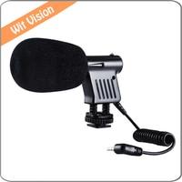 BOYA BY VM01 Mini Professional Directional Video Condenser Microphone For Canon Nikon DSLR Camcorder Camera