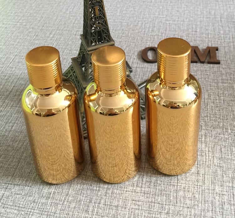 forró eladás 100db arany 50ml illóolaj üveg kupak arany kupakkal, - Bőrápolási eszközök