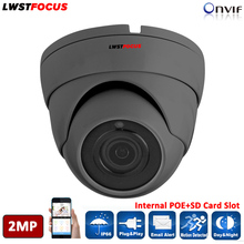 LWSTFOCUS 1080P Full HD 2MP Multi-language Multi-Function CCTV Camera POE IPC ONVIF 2MP IP Camera P2P ONVIF SONY IMX323+HI3516C