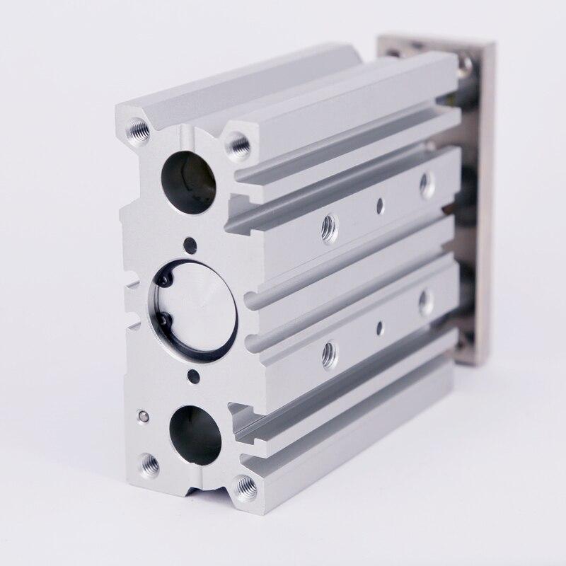 Купить с кэшбэком air Cylinder MGPM20-20Z MGPM20-25Z Thin cylinder with rod Three axis three bar  Pneumatic components MGPL20-20Z MGPL20-25Z AFR