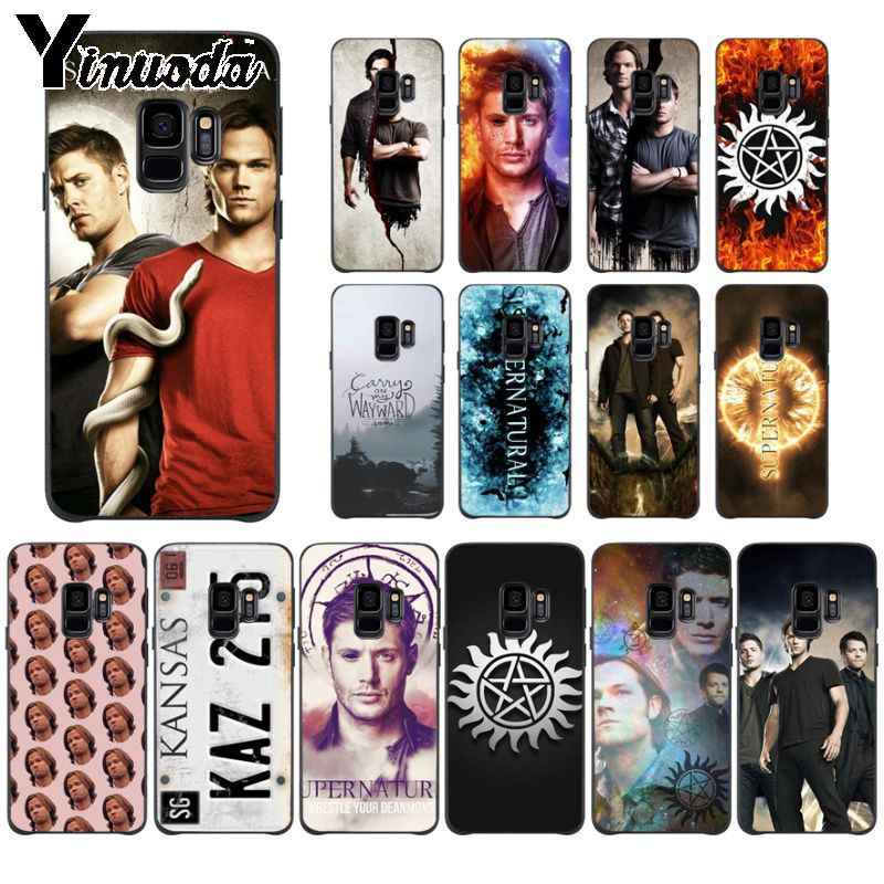 Yinuoda Supernatural Jared Padalecki KAZ2Y5 ซิลิโคนสำหรับ Samsung Galaxy s9 s8 plus note8 note9 s7 s10plus coque