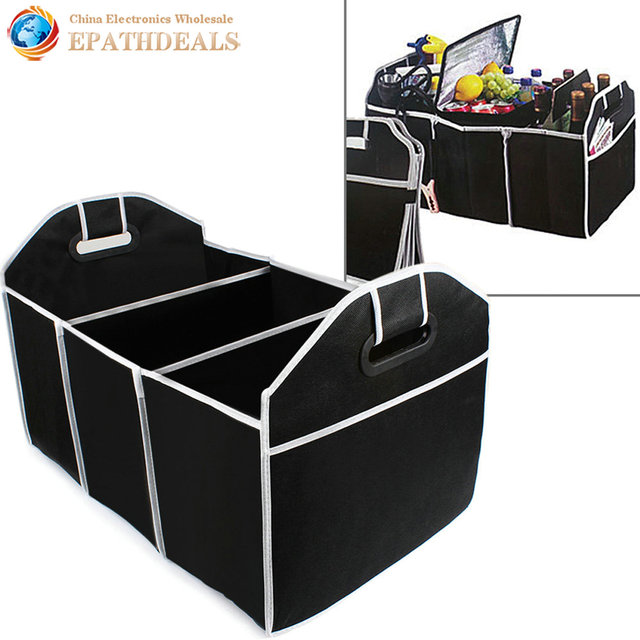 Collapsible Car Trunk Organizer Toys Food Storage Container Bags Truck Cargo Box Auto Styling Interior Accessories  sc 1 st  AliExpress.com & Collapsible Car Trunk Organizer Toys Food Storage Container Bags ...