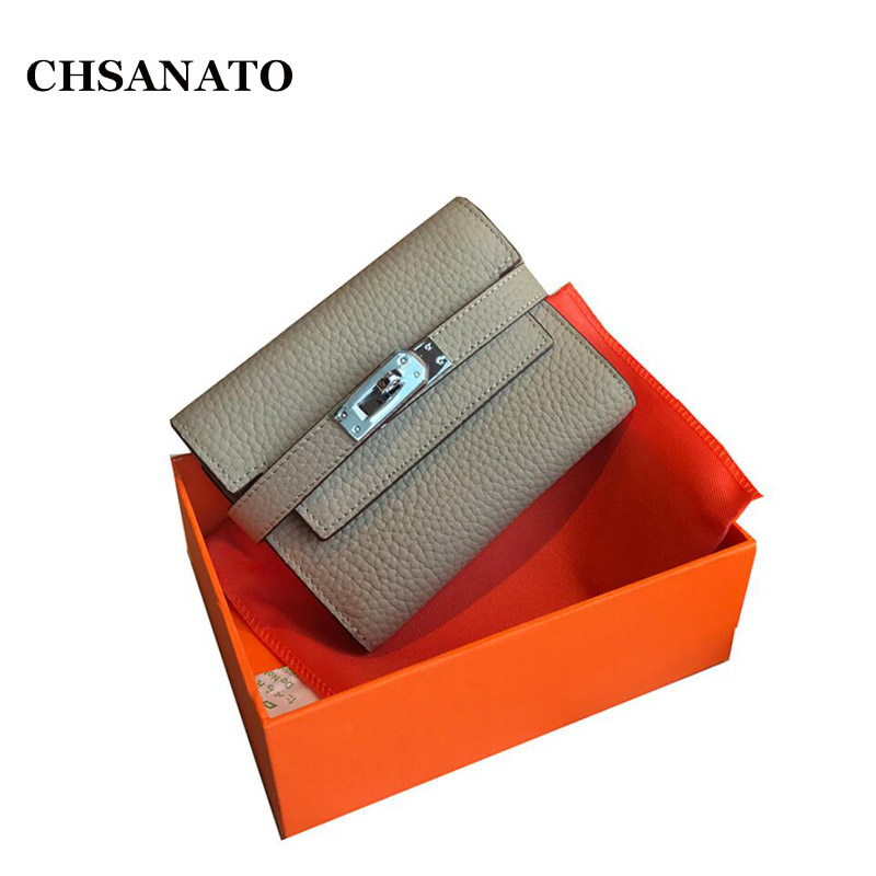 CHSANATO Solid Luxury Brand Women Wallets Fashion Hasp Leather Wallet Female Purse Clutch Money Women Wallet Coin Purse fashion women leather bags wallet purse tassel brand wallet women purse dollar price travel coin purse credit money mlt812wallet
