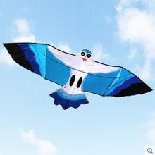 Высокое качество, воздушный змей, летающие игрушки, нейлоновый Рипстоп, воздушный змей, 10 шт./партия, с ручкой, линия птиц, воздушный змей, морская обезьяна