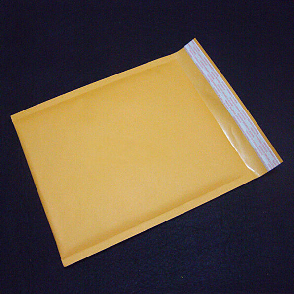 Kraft Paper Bubble Envelopes Bags Yellow Bubble Mailers Padded Shipping Envelope With Bubble Mailing Bag 1 Pcs 200X250mm