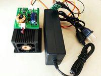 450nm 12 Вт 12000 МВт импульса лазерная гравировка Высокая мощность лазерного модуля синий свет