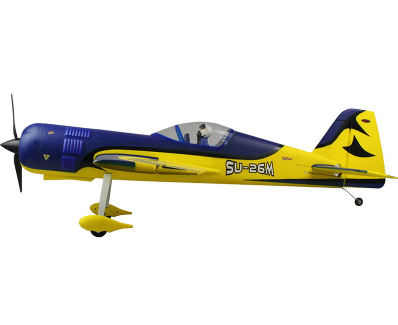 Dynam 1200MM SU-26M RC RTF Propeller Plane Model W/ Motor ESC Servo Battery радиоуправляемый самолет dynam су 26m 2 4g