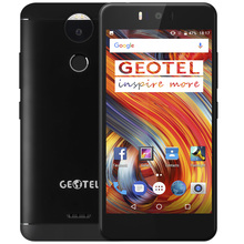 "Original Geotel AMIGO 5,2 ""HD 13MP Android 7.0 Octa-core MTK6753 3 GB + 32 GB Doppelnocken 4G Handy Fingerabdruck OTA Metall körper"