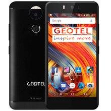 """Оригинальный geotel Amigo 5.2 """"HD 13MP Android 7.0 Octa core mtk6753 3 ГБ + 32 ГБ двойной камеры 4 г мобильного телефона отпечатков пальцев оты металла Средства ухода за кожей"""