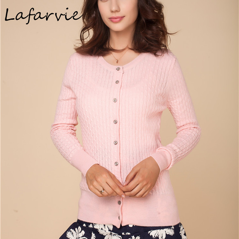 Lafarvie Spring & Winter Womens Casual Sweater Coat Cashmere Tricot Button Cardigan Size M L XL XXXL Tricou Outgi Cardigans