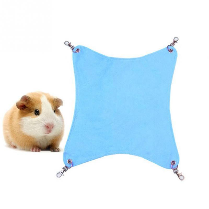 Hammock Pet Hamster Rat Parrot Ferret Hamster Hanging Bed Cushion Hamster House Cage Accessories For Hamsters