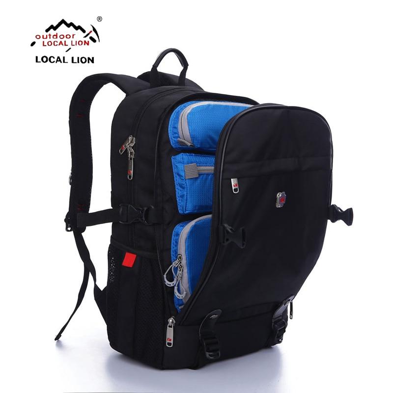 ФОТО LOCALLION Outdoor mountaineering bag camping backpack waterproof outdoor backpack Waterproof Travel Backpack Knapsack Rucksack