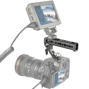 Image 5 - SmallRig Quick Release Camera Shoe Handle Grip Can Use W/ SmallRig Z6 L Plate w/ ARRI Locating Hole DIY Camera Stabilizer 2094