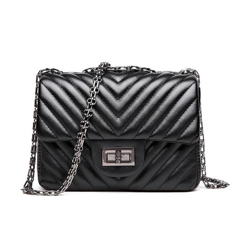 handbag black red blue silver 4 color shoulder bag sac a. Black Bedroom Furniture Sets. Home Design Ideas