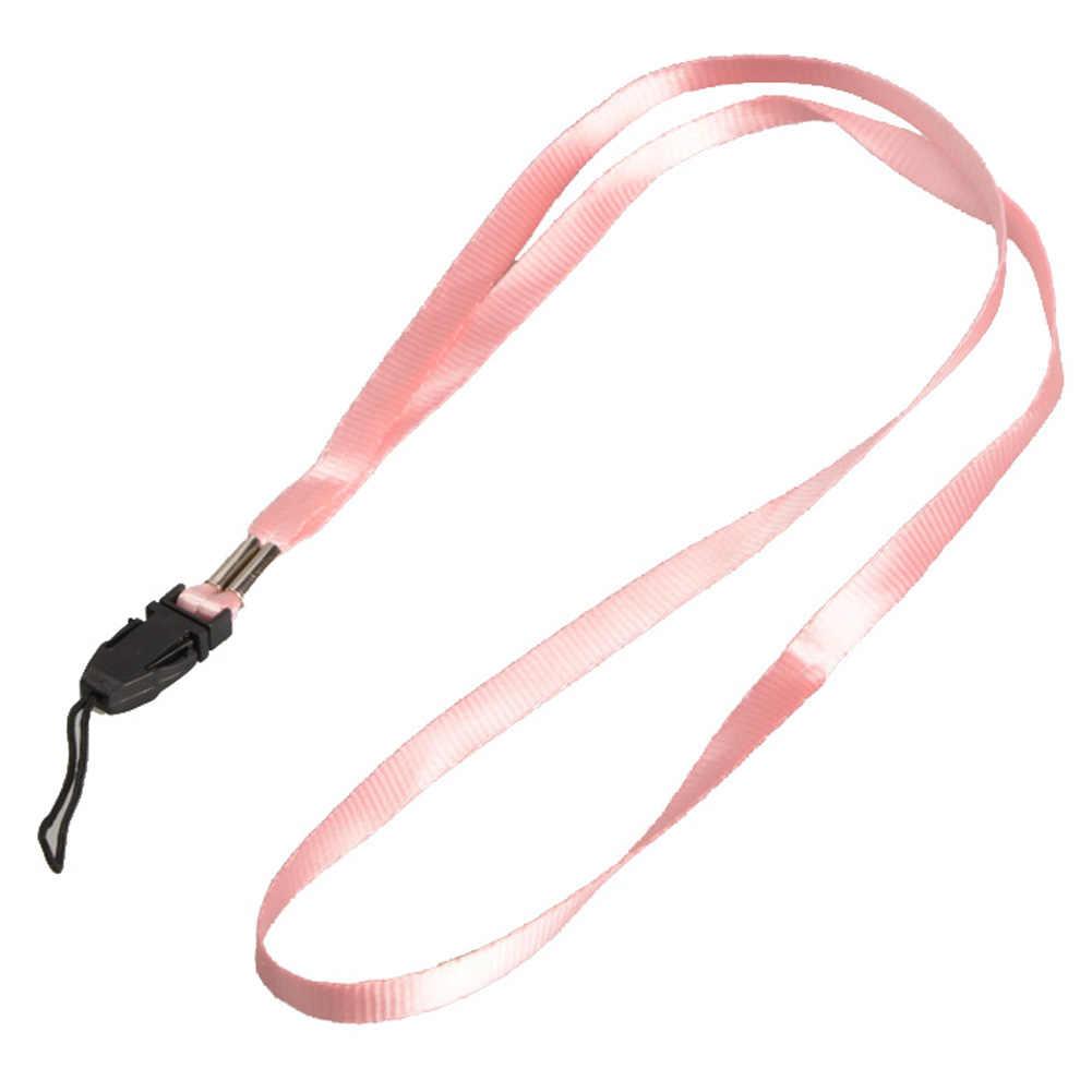 Hot Sale Lanyards Leher Tali Telepon untuk ID Kartu Pass Lencana Gym Kunci/USB Pemegang DIY Hang tali Lariat Lanyard