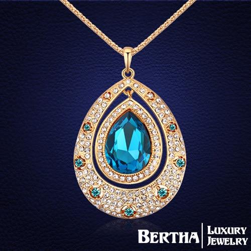 Позолоченные цепи старинные капли Vlong ожерелье цепь свитера с элементами Swarovski кристаллов для женщин колье ювелирные изделия