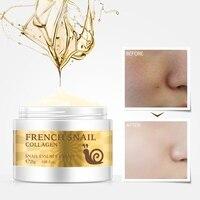 Snail face cream hyaluronic acid moisturizer anti Wrinkle anti aging nourishing collagen snail serum day cream skin care product Health & Beauty