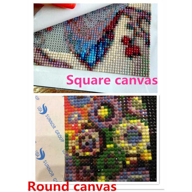 5D DIY полный квадратный алмазная живопись вышивка крестиком Ленивец 3D Стразы для вышивки мозаика украшение дома