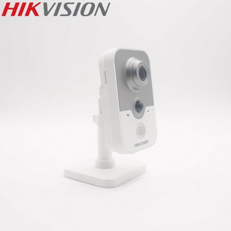 HIKVISION Version à l'étranger DS-2CD2442FWD-IW caméra Wi-Fi PoE 4MP IR Cube fixe caméra IP sans fil haut-parleur intégré mise à niveau EZVIZ