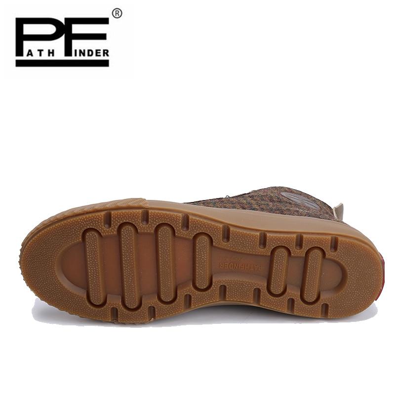 Rivetti in metallo Star Scarpe Da Tennis Degli Uomini Del Cuoio Genuino Lace up Scarpe Da Tennis Più Il Formato Nero di Alta Top Casual Scarpe di Camoscio scarpe basse - 4
