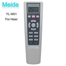 New Genuine Original YL-W01 0010400785B Air Conditioning Remote Control For Haier Air Conditioner AC Controller 100% new original for air conditioning control board pc0707 rzq125kmy3c rmxs160ey1c conversion module