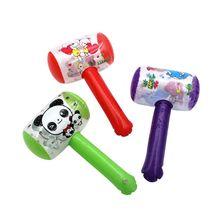 Надувной молоток с колокольчиком, воздушный молоток, детские игрушки, вечерние игрушки, надувные игрушки для бассейна, пляжные вечерние игрушки