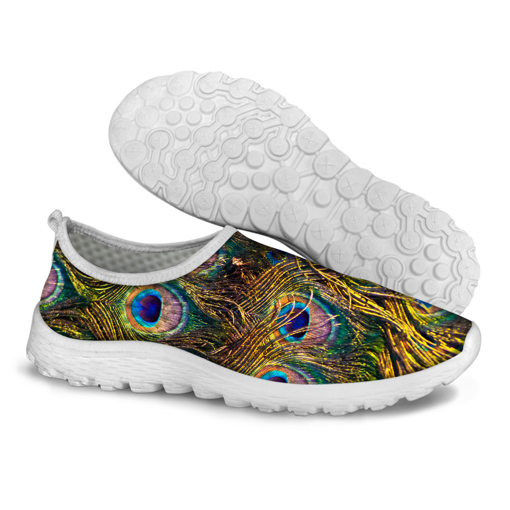 popular peacock feather shoes buy cheap peacock feather