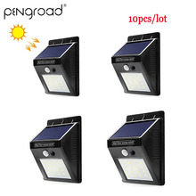 Waterproof LED Solar Lamp 20 Garden Decoration Motion Sensor Light Night Outdoor Security Fence Wall PD007
