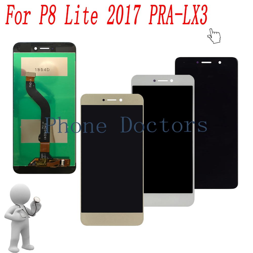 5.2'' Full LCD DIsplay +Touch Screen Digitizer Glass Lens Assembly For Huawei P8 Lite 2017 PRA-LA1 PRA-LX1 PRA-LX3