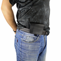 New style Concealed Carry Leather Holster Hunting Waistband Holster Gun Pouch for Compact to Medium Handguns