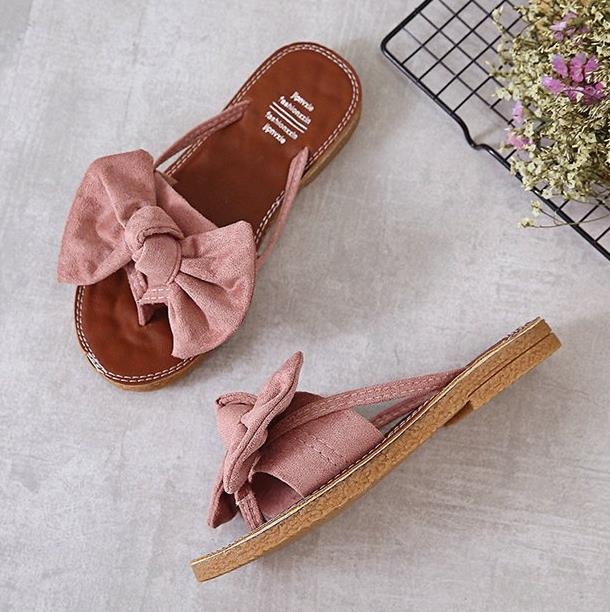 new Flat outdoor slippers Sandals foot ring straps beaded Roman sandals fashion low slope with women's shoes low heel shoes  x69 13
