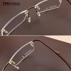 Image 4 - : กรอบแว่นตาผู้ชาย 2019 แว่นตากรอบแว่นตาผู้ชายแว่นตาคอมพิวเตอร์สายตาสั้นแว่นตาแฟชั่นกรอบแว่นตาผู้ชาย 0342
