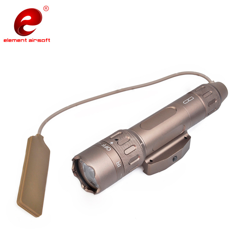 Image 3 - Element Airsoftsports Flashlight SF PEQ LA 5C BLOCK II Surefir IR Green Laser Tactical Light Softair Remote Tail Switch EX424-in Weapon Lights from Sports & Entertainment