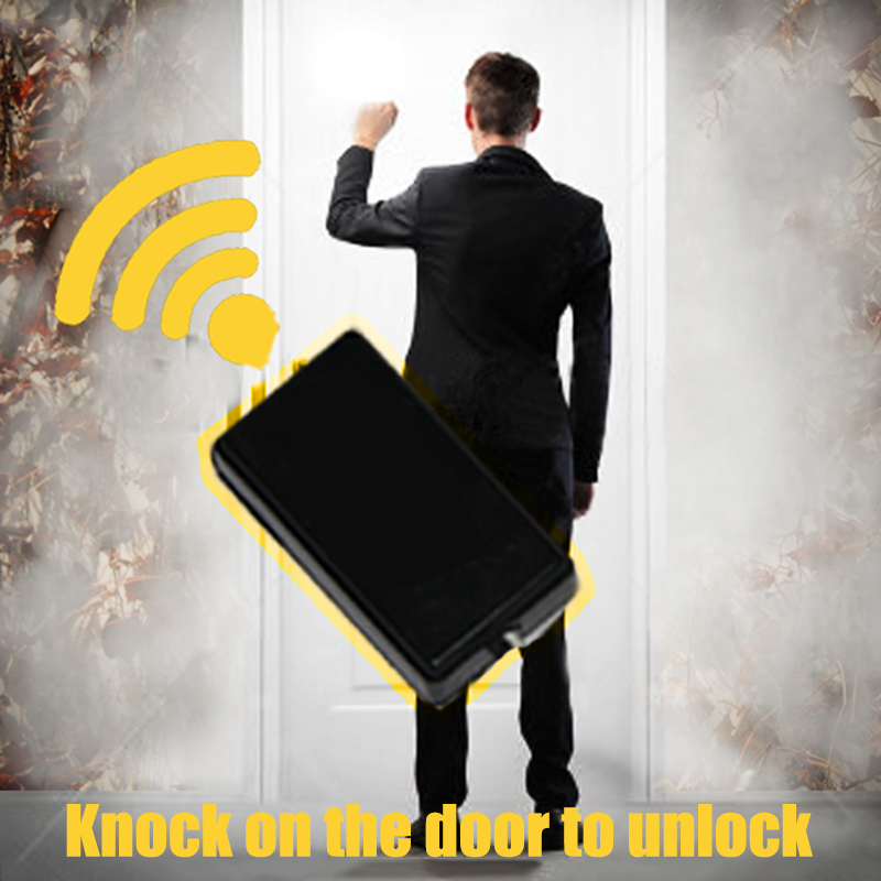 Real Life Escape Room Props Puzzles Knock On The Door To Open Door Shocking Unlock Room Escape Games Control 12V EM Lock