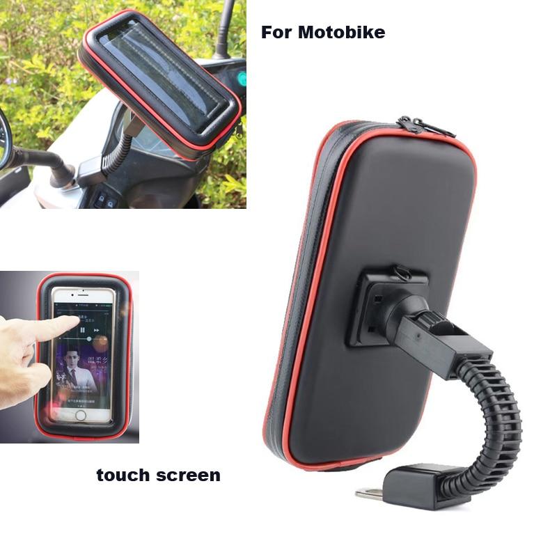 Écran tactile De Vélos Moto Vélo Mobile Détenteurs de Téléphone Cas Sacs Pour Huawei Compagnon 9 Porsche Design, p10/P10 Plus, Compagnon S2, Compagnon 8