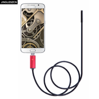 2016 New 5 5mm Lens 2 5 10 M USB Endoscope Android OTG Phone Endoscopio IP67